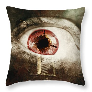 Throw Pillow featuring the photograph When Souls Escape by Jorgo Photography - Wall Art Gallery