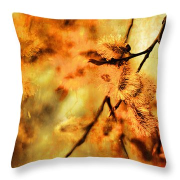 Throw Pillow featuring the digital art When Spring Awakens by Fine Art By Andrew David