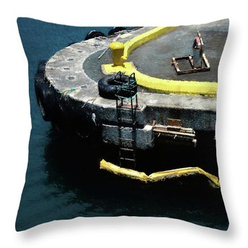 Where The Boats Come In 4 Throw Pillow