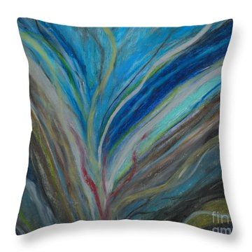 When The Feelings Are Gone Throw Pillow