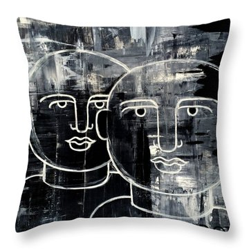 When The Goings Get Tough 50x50 Print By Erod Throw Pillow