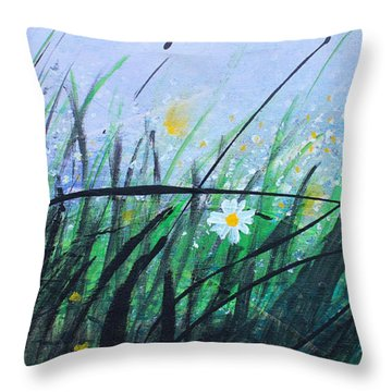 When The Rain Is Gone Throw Pillow