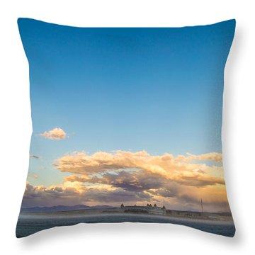 When The Sun Goes Down Throw Pillow