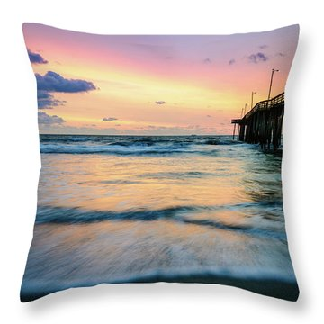 When The Tides Return Throw Pillow