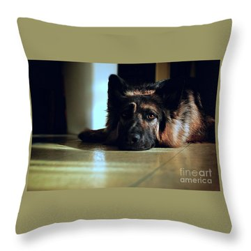 When Their Eyes Look At Your Soul Throw Pillow