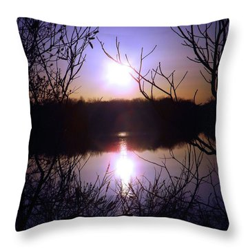 When Tomorrow Comes Throw Pillow by Robyn King