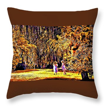 When We Were Young... Throw Pillow