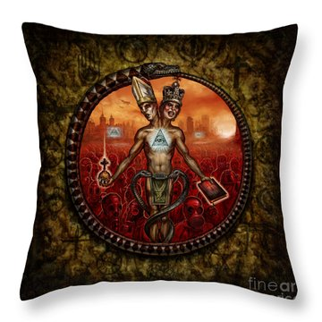 When Will They See Throw Pillow by Tony Koehl
