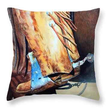 When Work Is Play Throw Pillow