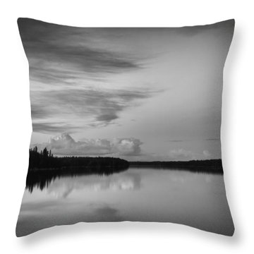 When You Look At The World What Is It That You See Throw Pillow by Yvette Van Teeffelen