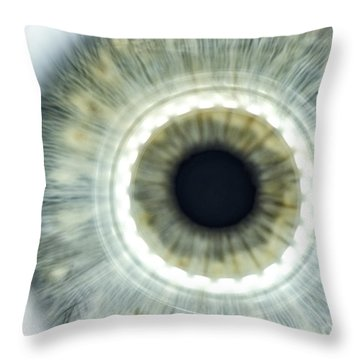 When You Never See The Light Throw Pillow