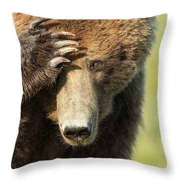 Where Are My Shades? Throw Pillow