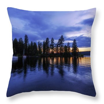 Where Are The Ducks? Throw Pillow