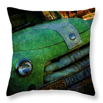 Where Are The Good Old Days Gone Throw Pillow by Susanne Van Hulst