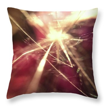 Where Are We Now Throw Pillow