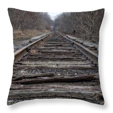 Throw Pillow featuring the photograph Where Are You Going? by Michael Colgate