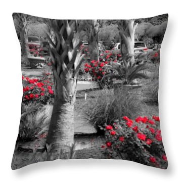 Where Throw Pillow by David and Lynn Keller