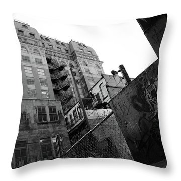 Where Death Finds Me Throw Pillow