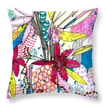 Where Did You Put My Cup? Throw Pillow