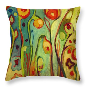 Where Does Your Garden Grow Throw Pillow