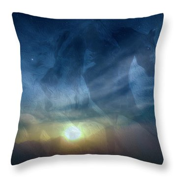 Throw Pillow featuring the photograph Where Dreams Come True 4 by Johanna Hurmerinta