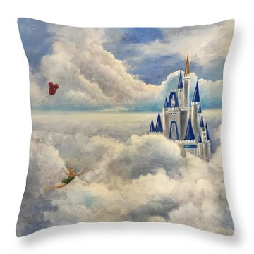 Where Dreams Come True Throw Pillow by Randy Burns