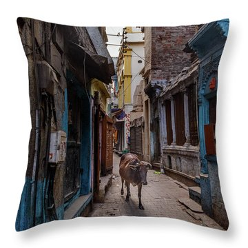 Where Is Everyone Throw Pillow