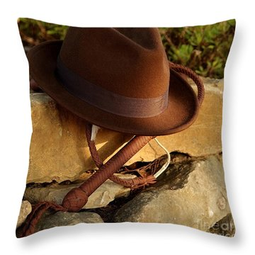 Where Is Indiana? Throw Pillow