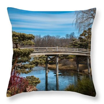 Where Is Spring? Throw Pillow