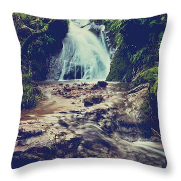 Throw Pillow featuring the photograph Where It All Begins by Laurie Search