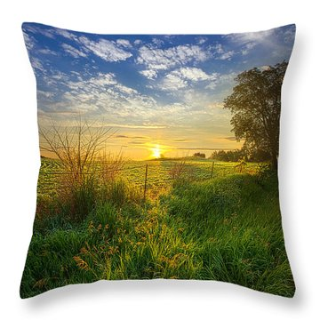 Where My Heart Belongs Throw Pillow
