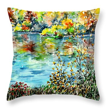 Where My Soul Keeps Wandering Throw Pillow