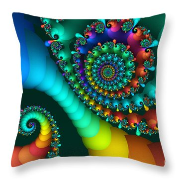 Where Rainbows Are Made Throw Pillow