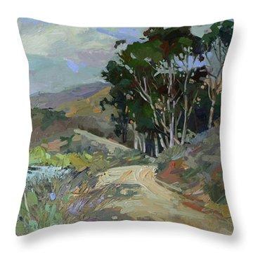 ...song Of Birds ...plein Air Throw Pillow