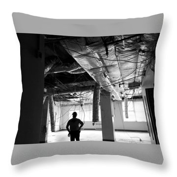 Where To Go From Here Throw Pillow