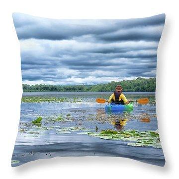 Where We Belong Throw Pillow