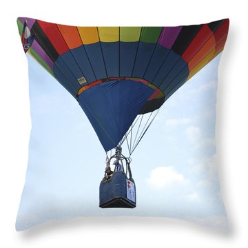Where Will The Winds Take Us? Throw Pillow