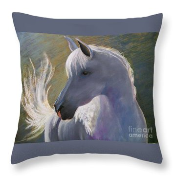 Where's My Cowgirl Throw Pillow