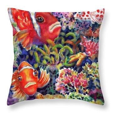 Where's Nemo Throw Pillow