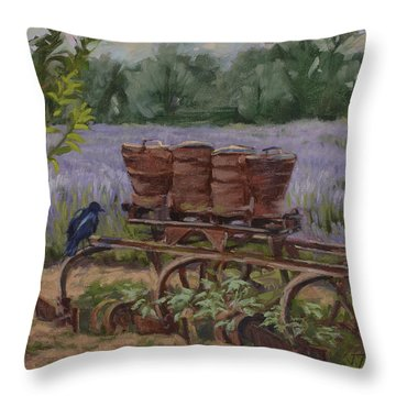 Where's The Seed? Throw Pillow