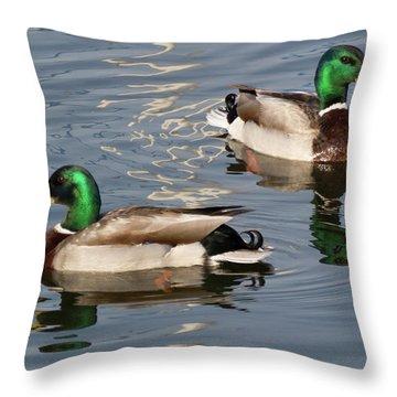 Where's The Women Throw Pillow