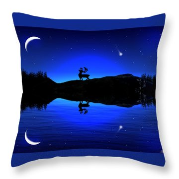 Wherever I May Roam Throw Pillow by Bernd Hau