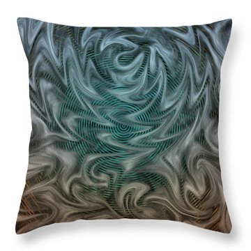 Wherever You Go, There You Are Throw Pillow