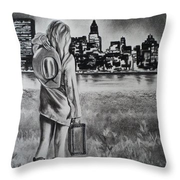 Wherever Your Dreams May Take You Throw Pillow by Carla Carson