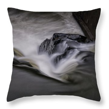 Whetstone Canyon Throw Pillow by Tom Singleton