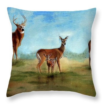 Which One Throw Pillow