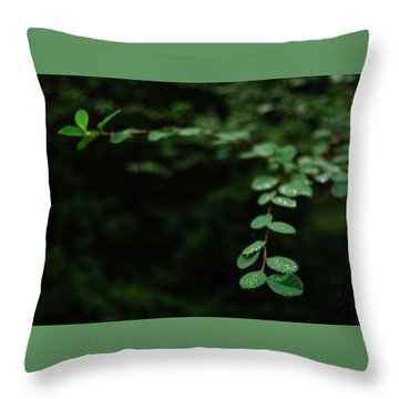 Outreaching Throw Pillow