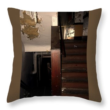 Which Way? Throw Pillow