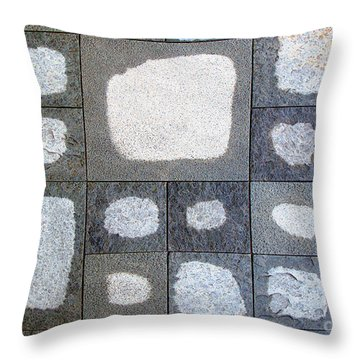 While We Were Having Lunch It Rained Throw Pillow