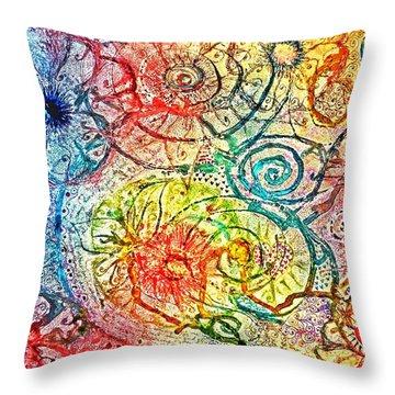 Whimsy Throw Pillow
